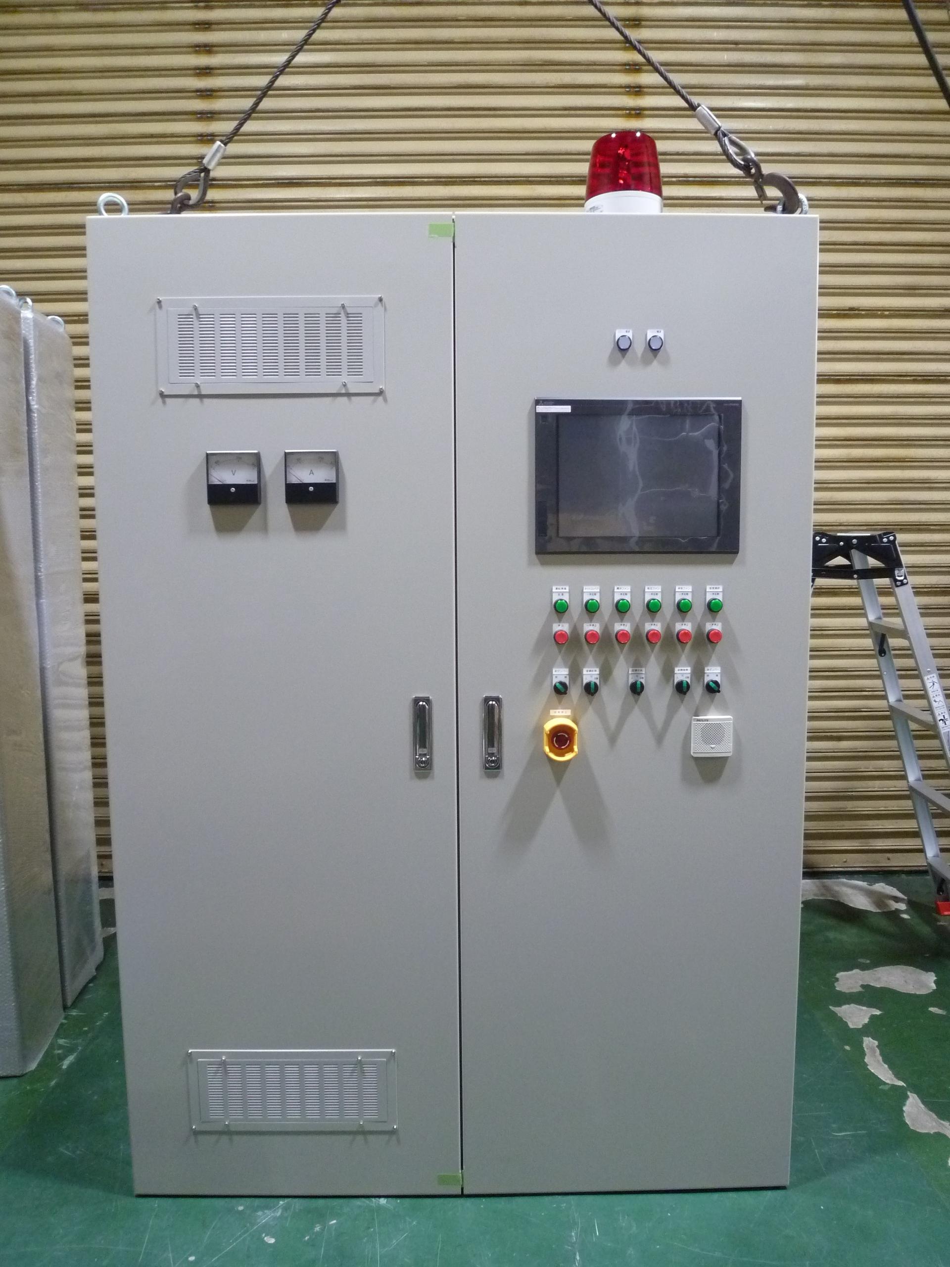乾燥機制御盤